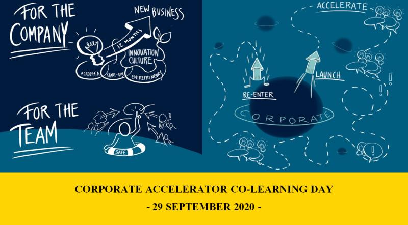 Corporate Accelerator Co-Learning Day on September 29th, 2020