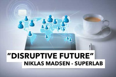 Ideon Open Digital Morning with Niklas Madsen from SUPERLAB